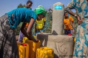 ユニセフ報道資料「エチオピア 1,000万人以上が食糧支援を待つ エルニーニョによる干ばつが深刻化 」